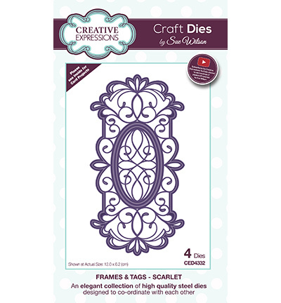 Craft Dies Scarlet CED4332