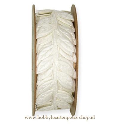 KH1014 Leaves Cream 23mm