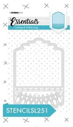 Embossing Die Cut - Essentials nr. 251