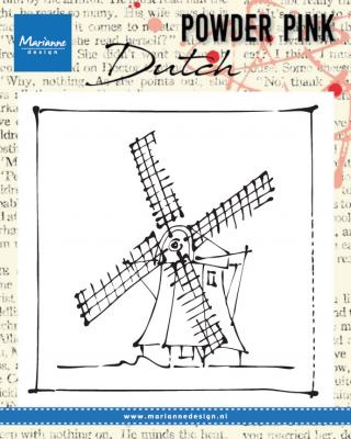 Clear stamp Powder Pink - Windmill PP2802