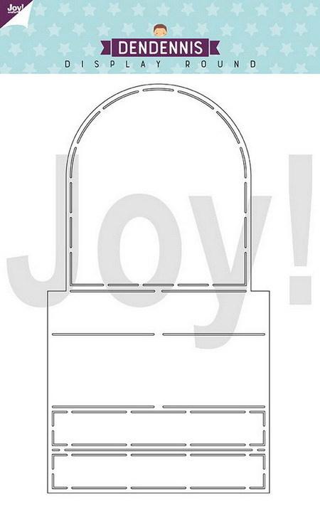 Joy Crafts Dendennis - Display round 6002/0886