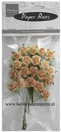 Roses Bunches peach RB2218