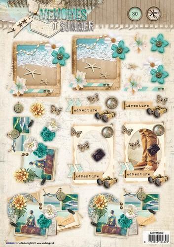 Studio Light A4 Stansvel Memories of Summer EASYMS622