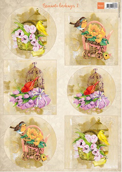 VK9585 Birds & Birdcages 1