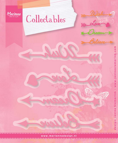 Collectables COL1458 Arrow sentiments
