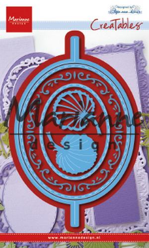 Creatables LR0607 Anja's Vertical Folding Die - Oval