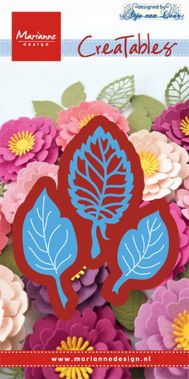 Creatables  LR0547 Anja's leaf set