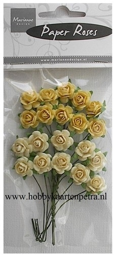 Roses Bunches Yellow RB2213