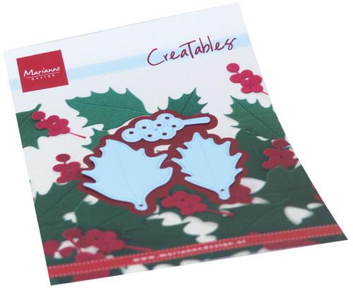 Creatables LR0675 Holly leaves