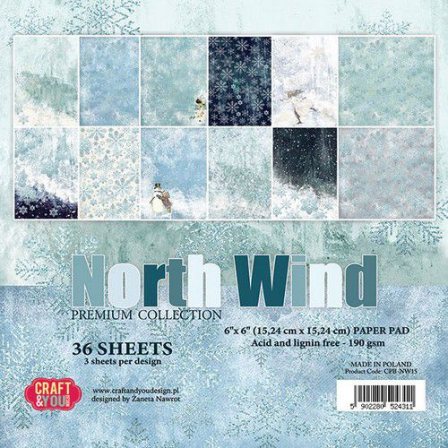 Craft & You paper pad North Wind