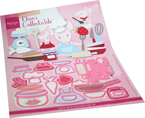 Collectables COL1493 - Eline's Kitchen accessories