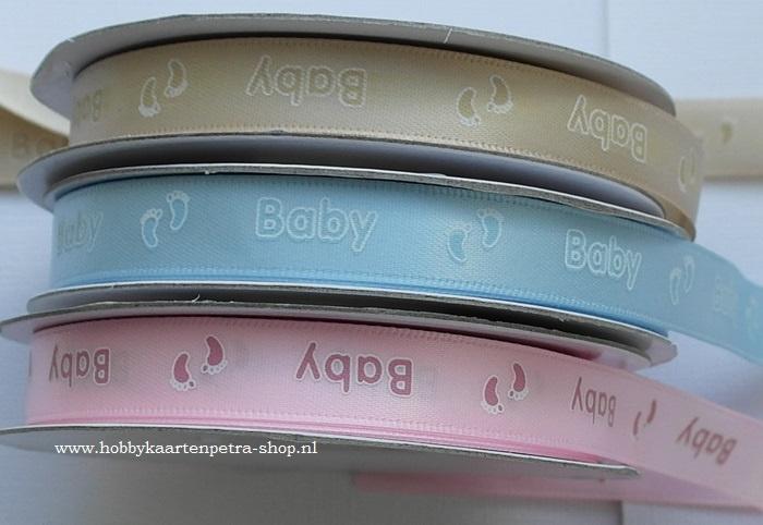 CG1002 Satijn lint Baby 12mm