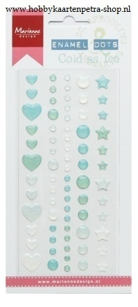Enamel Dots - Cold as ice PL4511
