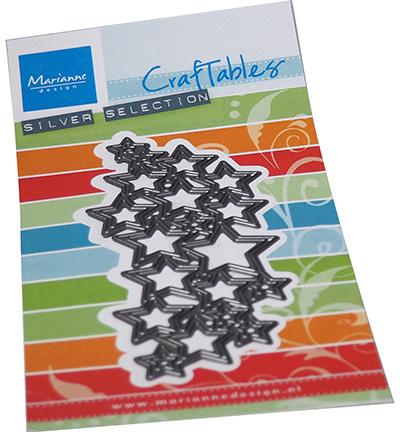 Craftables CR1559 - Art texture stars