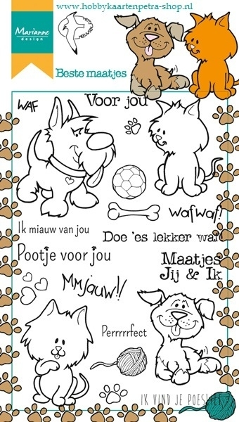 Clear stamps HT1607 Beste maatjes