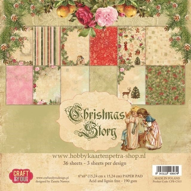 Craft & You paper pad Christmas Story