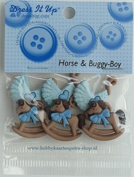 Dress It Up Horse & Buggy-Boy