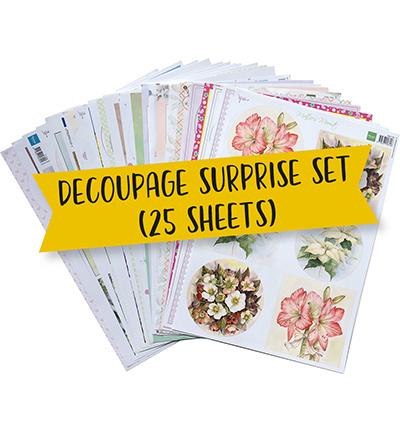 PA4133 - Decoupage surprise (25 knipvellen)