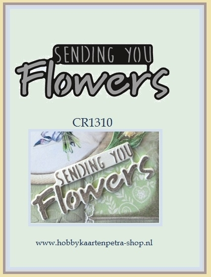 Craftables CR1310  Sending you flowers