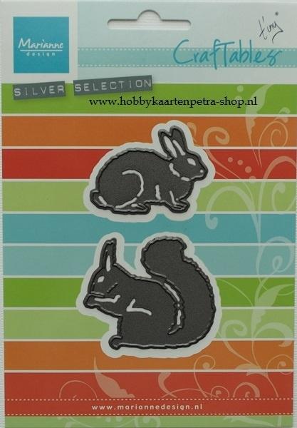 Craftables CR1340 Squirrel & rabbit
