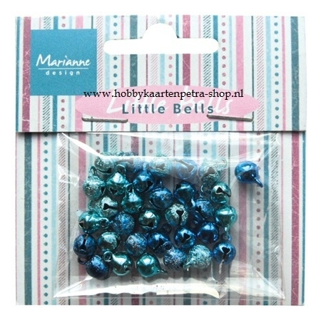 Bells light blue & dark blue JU0940