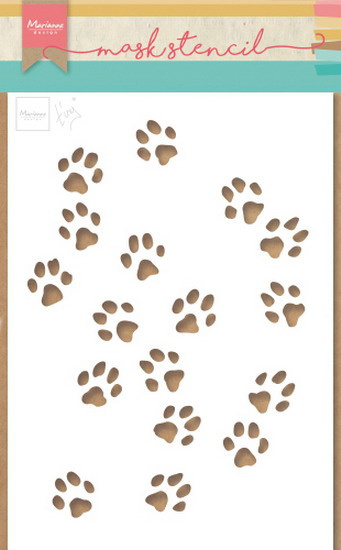 Craft stencil PS8029 Tiny's cat paws
