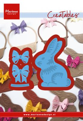 Creatables LR0519 Easter bunny with bow