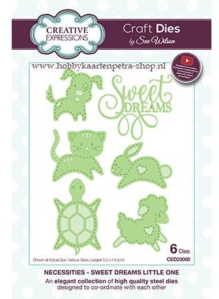 Craft Dies Sweet Dreams Little One CED23008