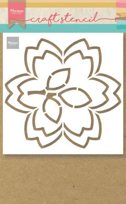 Craft stencil  PS8054 - Blossom