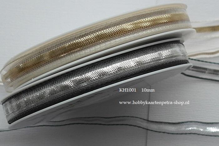 KH1001 Lurex Ribbon Stripes 10mm