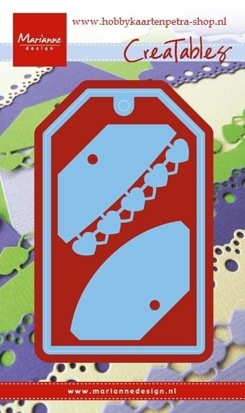 Creatables LR0411 Labels: hearts