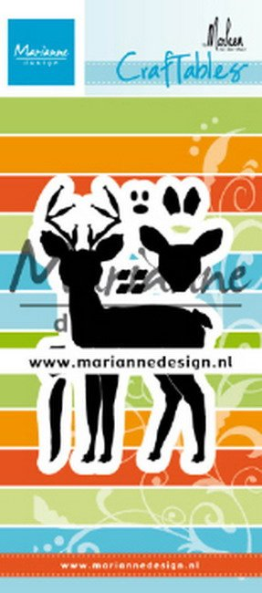 Craftables CR1485 deer by Marleen