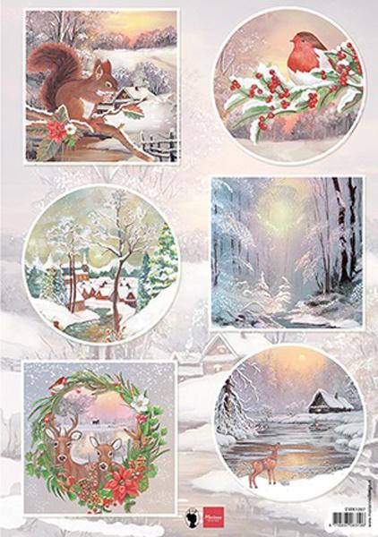 EWK1287 - Winter wishes - Squirrel