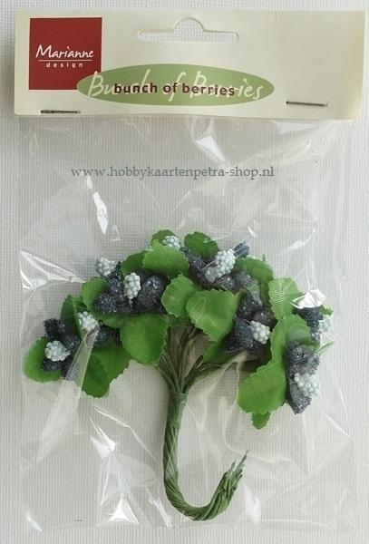 Bunch of berries blue JU0904