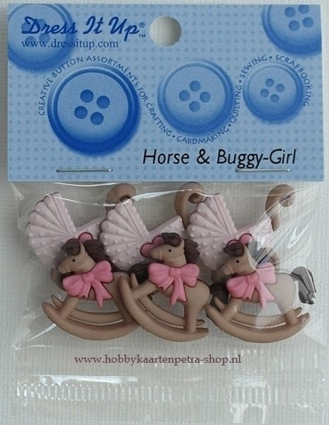 Dress It Up Horse & Buggy-Girl
