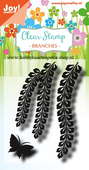 Clearstamp - LH - Branches with butterfly 6410/0490