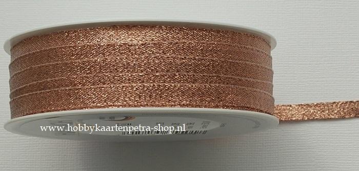 KH1007 Lurex Ribbon koper 6mm
