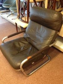 Retro vintage Jan des Bouvrie lounge chair 601 for Gelderland