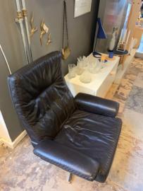Vintage design de sede DS 35 lounge chair plus hocker