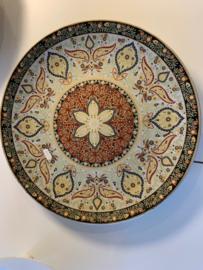 Prachtige Bohemian Marrokaanse schaal
