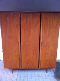 Retro jaren 60 teak houten Pastoe Webe Hal/slaapkamer kast  SOLD SOLD SOLD SOLD SOLD