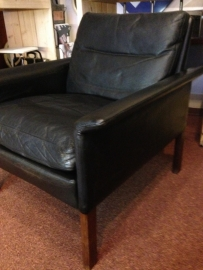 Vintage club chair Hans Olsen model 500 Glostrup