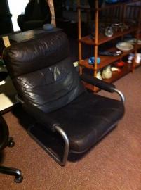 Prachtige vintage Jan de Bouvrie Gelderland fauteuil / Nice vintage Jan de Bouvrie Gelderland lounge chair