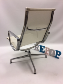 Vintage design Eames EA 116 Netweave lounge chair