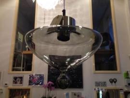 Retro jaren 60 glazen Raak hanglamp/1960 Raak Pendant