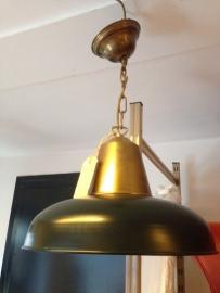 Art-deco jaren 50/60 hanglamp vintage / 1950/1960 art-deco ceiling lamp