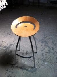 Italiaanse Magis Lyra barkrukken/Italian Magis Lyra stools (2)