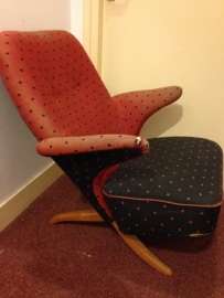 Vintage Theo Ruth Pinguin chair for Artifort