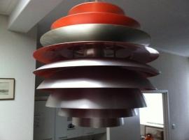 Prachtige Snowball hanglamp Poulsen replica /  Replica Snowball pendant lamp Poulsen