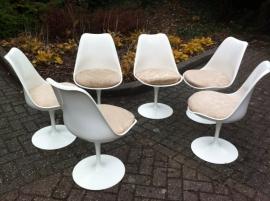 Originele saarinen tulip chairs voor Knoll, Original Tulip chairs Knoll International